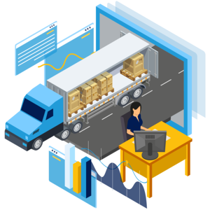 Managing inbound and outbound orders from multiple carriers.