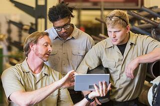 Fleet maintenance software automates maintenance logging and scheduling processes.
