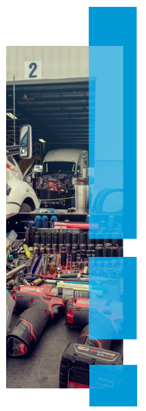 Family-owned transportation company and shop with fleet maintenance.